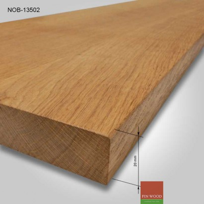Natural Oak board 1000x350x20mm #CraftedForLife