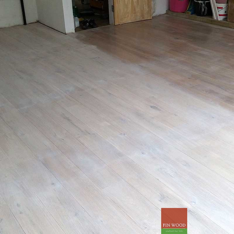 Hardwood Floor Sanding And Oil Finish
