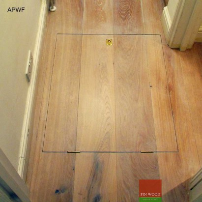 Access panels for Wooden floor #CraftedForLife