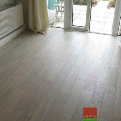 Fitting Grey Engineered Oak Flooring