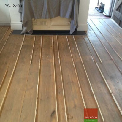 Pine Slivers - Gap Filling Floor Boards #CraftedForLife