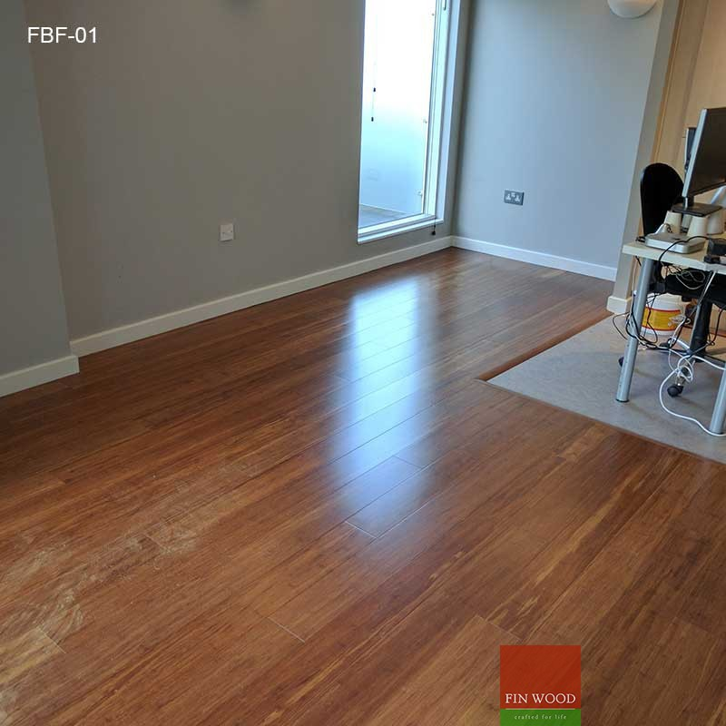 Fitting Bamboo Floors - Wide plank Bamboo flooring