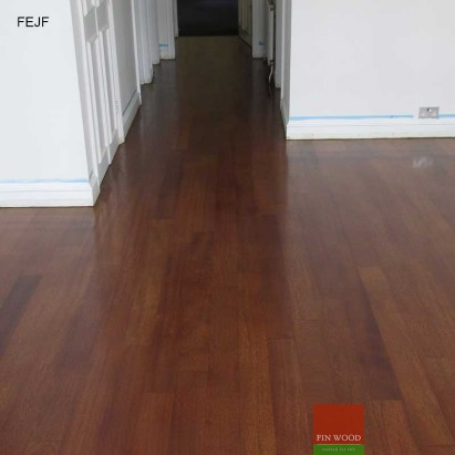 Jatoba wood flooring - Engineered Jatoba Fitting #CraftedForLife