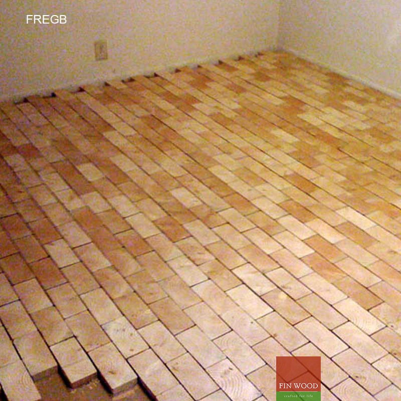 Fitting Rectangle End Grain Blocks London