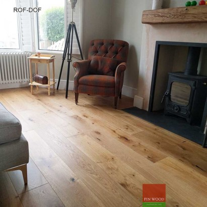 Distressed oak flooring - rustic oak flooring