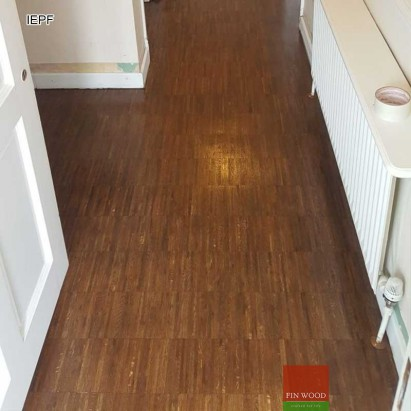 Industrial edge Parquet flooring #CraftedForLife