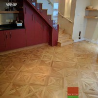 Versailles Parquet Fitting - flooring by FinWood Ltd.
