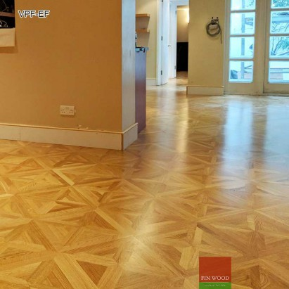 Versailles Parquet Fitting - flooring by FinWood Ltd. #CraftedForLife