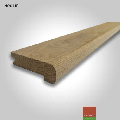 Stair Nosing - solid natural Oak
