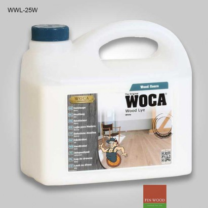 Woca Wood Lye white 2.5 liter #CraftedForLife