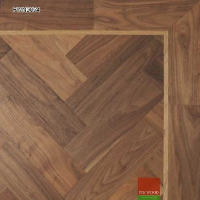 Walnut Parquet Premier Unsealed 280 x 70 mm