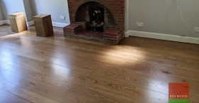 Random Width Engineered Oak Makes A Statement In Beckenham, BR3