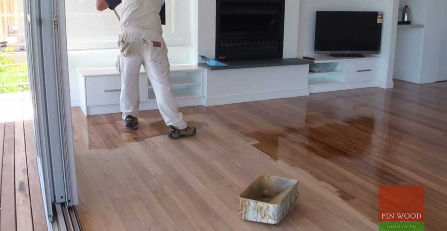 TIME TO MAINTAIN YOUR LACQUERED FINISHED FLOOR?