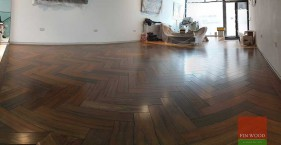 Exotic Wooden Floors Showroom in Notting Hill, London