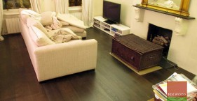Engineered Oak Jacobean Pre-lacquered in Chelsea, London
