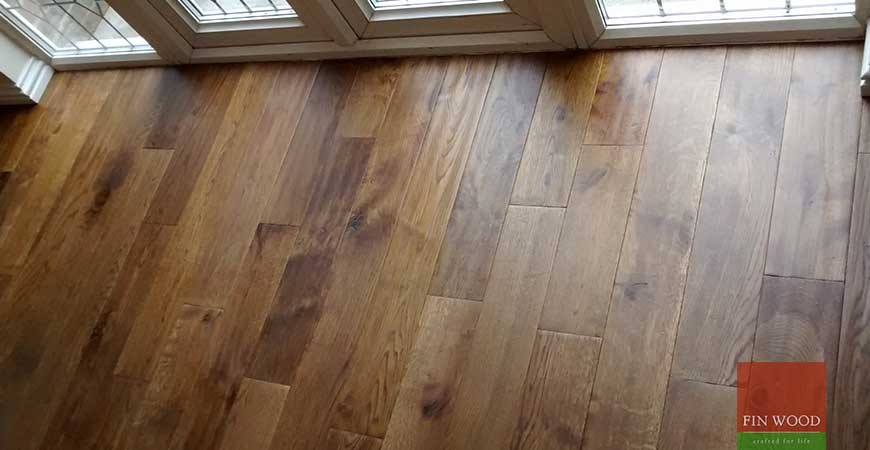 Solid Oak Flooring In Woodford Green London