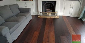 Baked Oak Engineered Boards Installation in SW18 Wandsworth, London