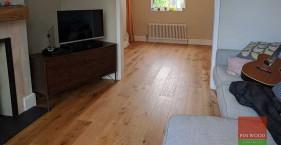 Rustic Oak Engineered Boards flooring in SE25 Croydon