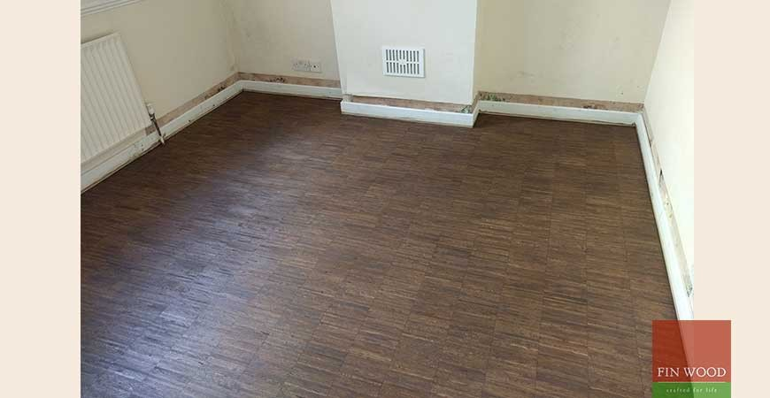 Oak Industrial Edge Parquet in SW17 Tooting
