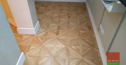 Versailles Panel Flooring Introduces Pattern to South London home