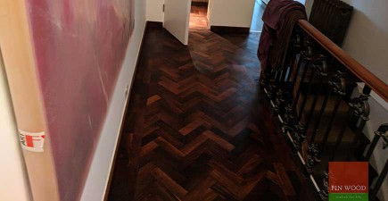 Our Restoration Work Improves a Rare Parquet Wooden Floor #CraftedForLife