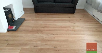 Natural Look Engineered Oak Boards fitting #CraftedForLife