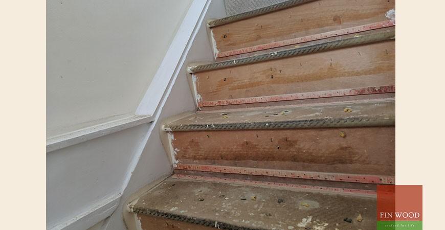 Bespoke Brushed Effect Parquet Wood Flooring Fitted in Shepherd's Bush, W14