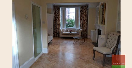 Bespoke Brushed Effect Parquet Wood Flooring Fitted in Shepherd's Bush, W14 #CraftedForLife