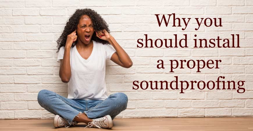 Why You should Install Proper Soundproofing in Flats with Wooden Flooring #CraftedForLife