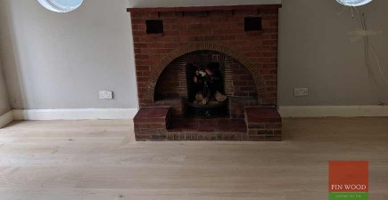 Random Width Engineered Oak Makes A Statement In Beckenham, BR3 #CraftedForLife