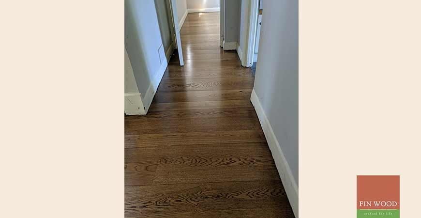 Random Width Engineered Oak Makes A Statement In Beckenham, BR3