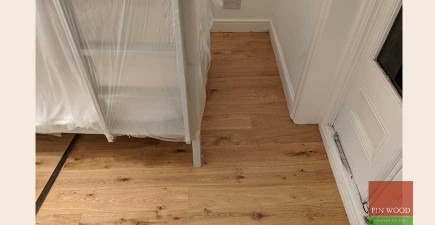 Stunning New Oak Wooden Floor and Sound Proofing in Victorian Apartment, NW5 #CraftedForLife