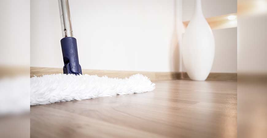 How to clean your wooden floor #CraftedForLife