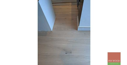 Expertly fitted engineered oak boards in stunning whole house project in Beckenham, BR3 #CraftedForLife