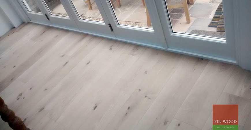 Fitting Wide Oak Boards Engineered in Chiswick