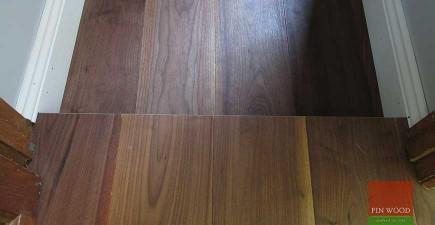 American Black Walnut Engineered boards, Theydon Bois, Essex #CraftedForLife