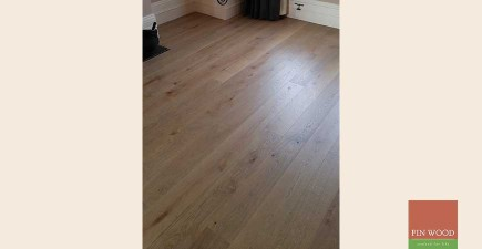 Engineered Oak Flooring in Herne Hill, London