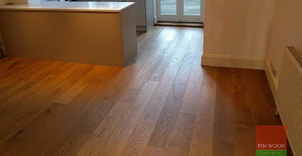 Oak Engineered Wood Flooring in Wimbledon, London