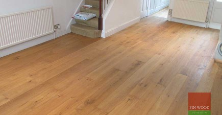 Oak Engineered Boards flooring in Battersea, London