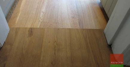 Oak Engineered Boards flooring in Battersea, London #CraftedForLife