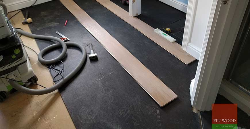 Coastal Grey Oak Engineered Boards flooring in Clapham, London #CraftedForLife