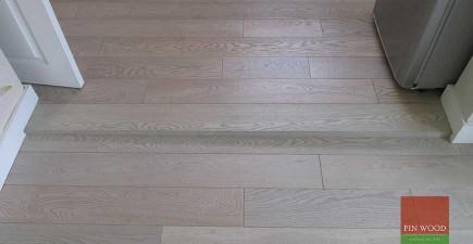 Grey Engineered Oak Flooring in Thames Ditton, Surrey #CraftedForLife