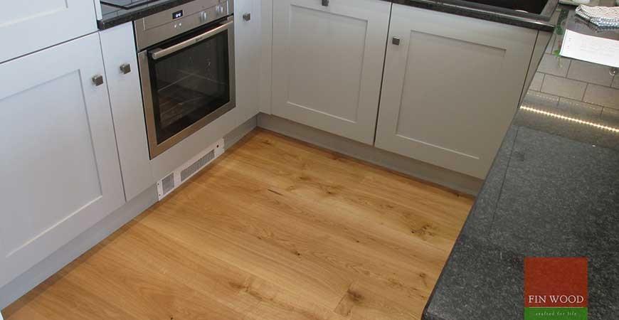 Oak Engineered Wood Flooring near Tower Bridge, London #CraftedForLife