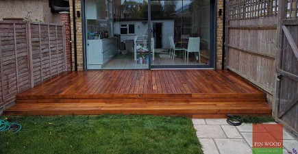 Indonesian Teak Decking in  Wimbledon, London  #CraftedForLife