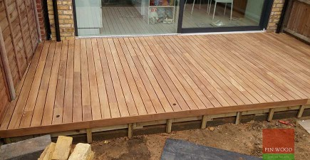 Indonesian Teak Decking in  Wimbledon, London