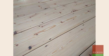 Original Pine Boards Restoration, Sanding & Oiling, in Harrow, London #CraftedForLife
