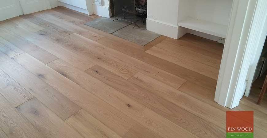 Engineered Oak Flooring in Kennington, London #CraftedForLife