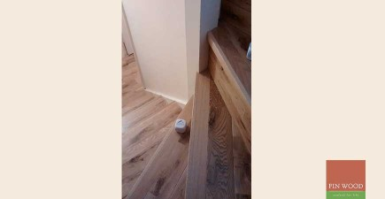 Solid Rustic Oak Flooring in Penge, London