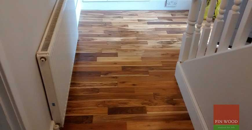 Solid Acacia Flooring in Kingswood, Surrey #CraftedForLife