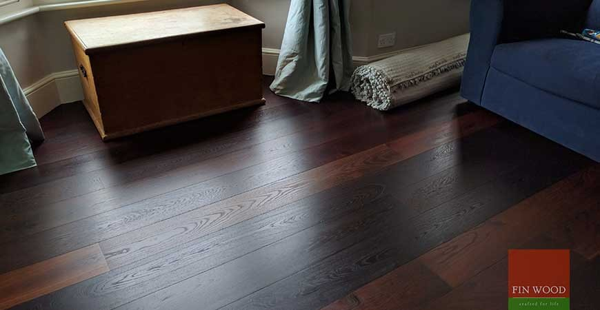 Baked Oak Engineered Boards Installation In Sw18